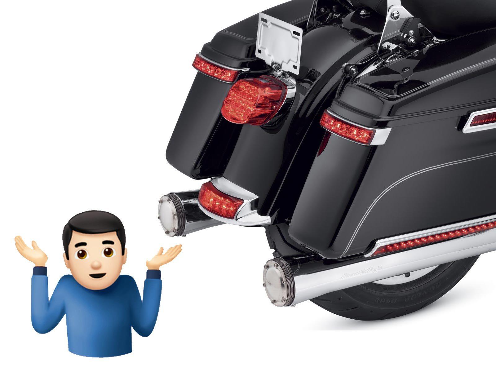 Over 12,000 Harley-Davidsons Recalled for Missing Reflectors-harley-davidson-detachable-tour-pak-luggage-conversion.jpg