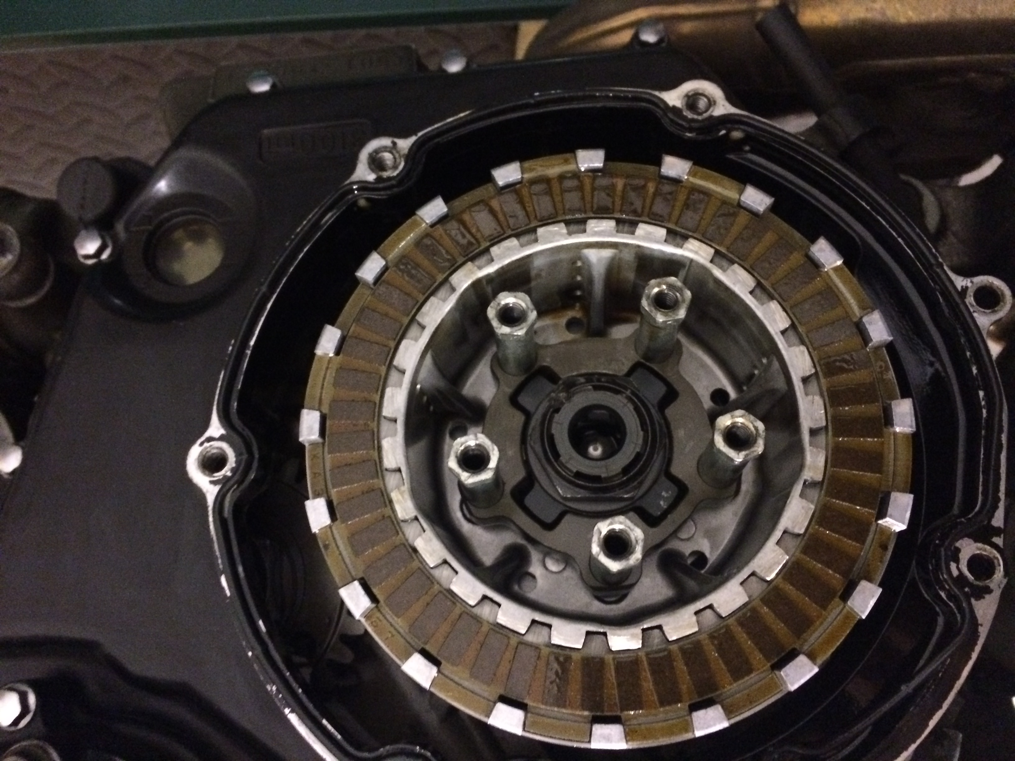Welded clutch, question on removal