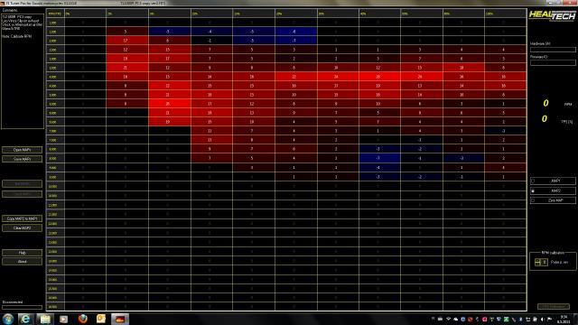 Healtech FI Tuner Pro fuel maps