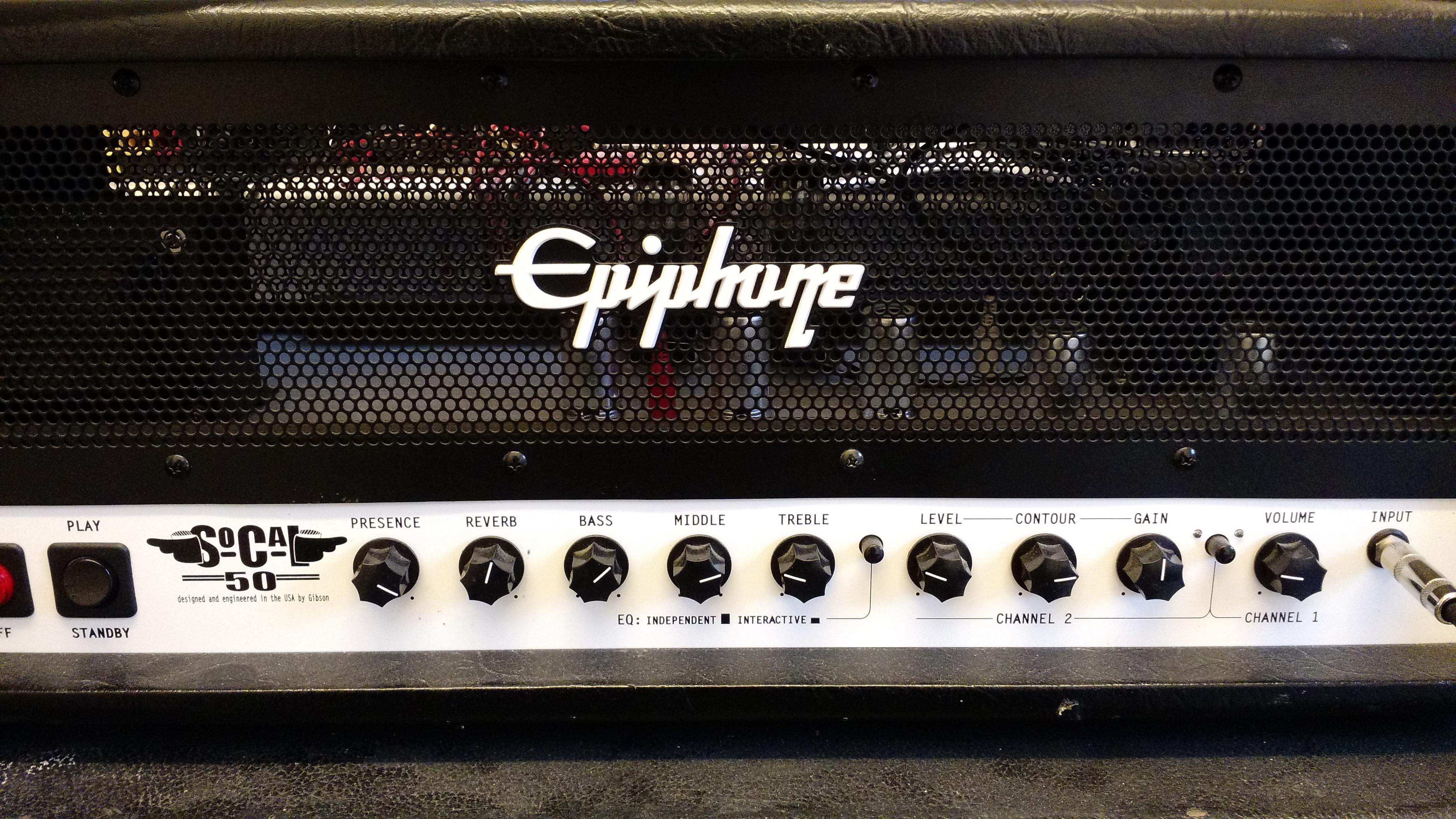 Epiphone SoCal50 50W valve amp plus Fender 4x12 speaker cab-socal50_front.jpg
