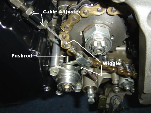 clutch actuator tls v sv650