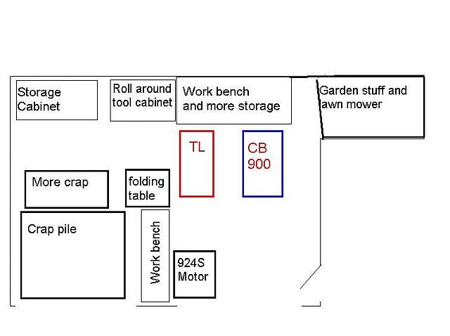 Garage Shop Shed Layout Untitled